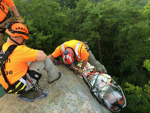 The Wolfe County Search and Rescue Team conducts 50 missions per year ... and that's on a slow year!