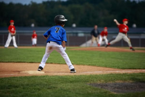 Baseball on Plate Action