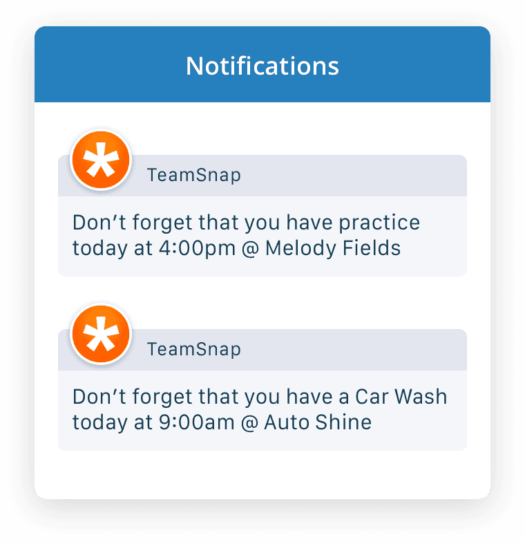 Get realtime and relevant notifications