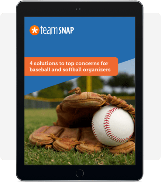 Preview of e-book: 4 Solutions to Top Concerns for Baseball and Softball Organizers