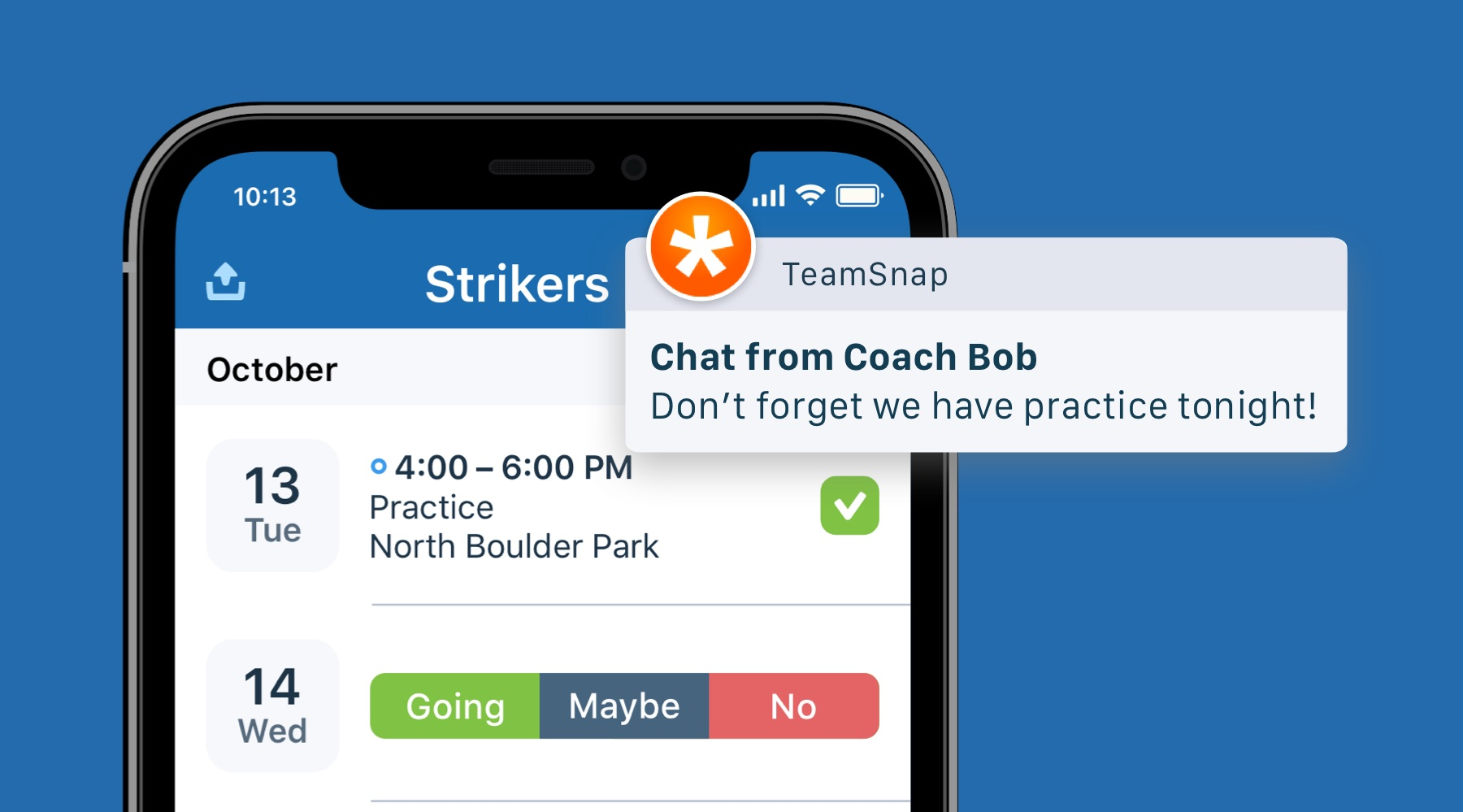 Registration is a breeze with sport league management software TeamSnap
