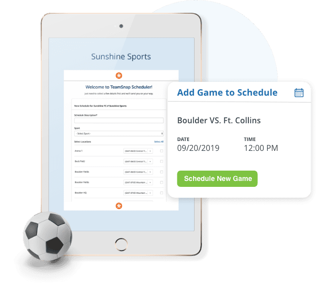 Automate Practice and Game Schedules
