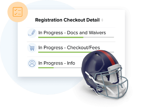 TeamSnap's #1 football registration feature