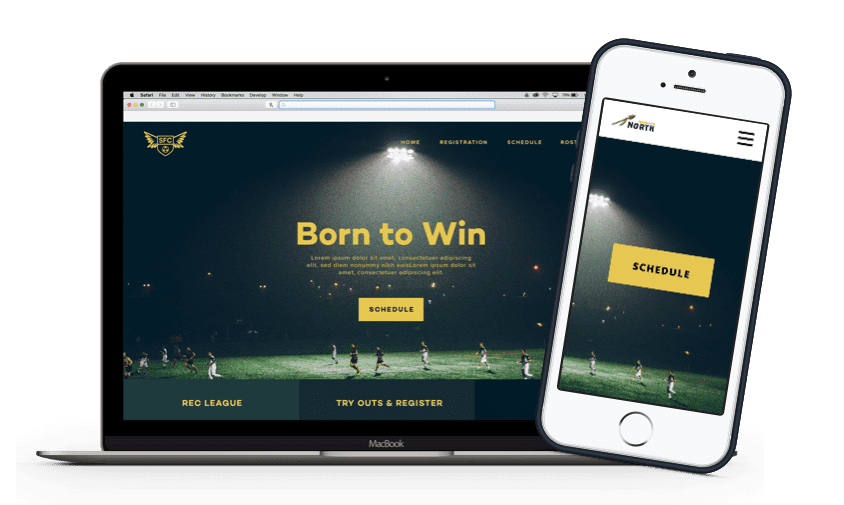 TeamSnap Club & League Soccer organization app product