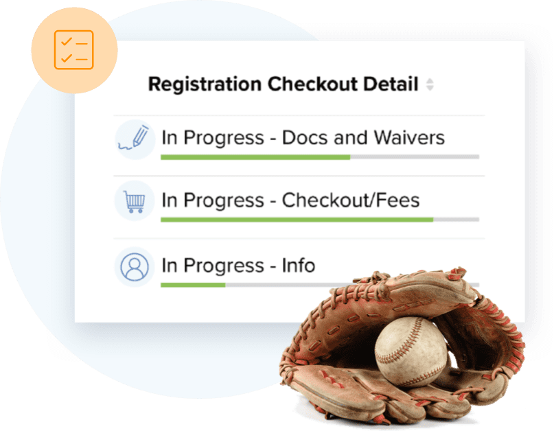 TeamSnap's #1 softball registration feature