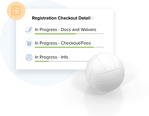 TeamSnap's #1 volleyball registration feature