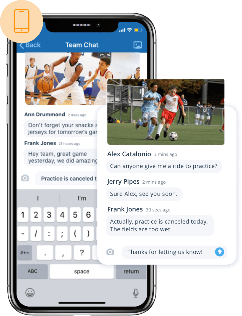 Keep everyone connected together with the top leagues and clubs management app