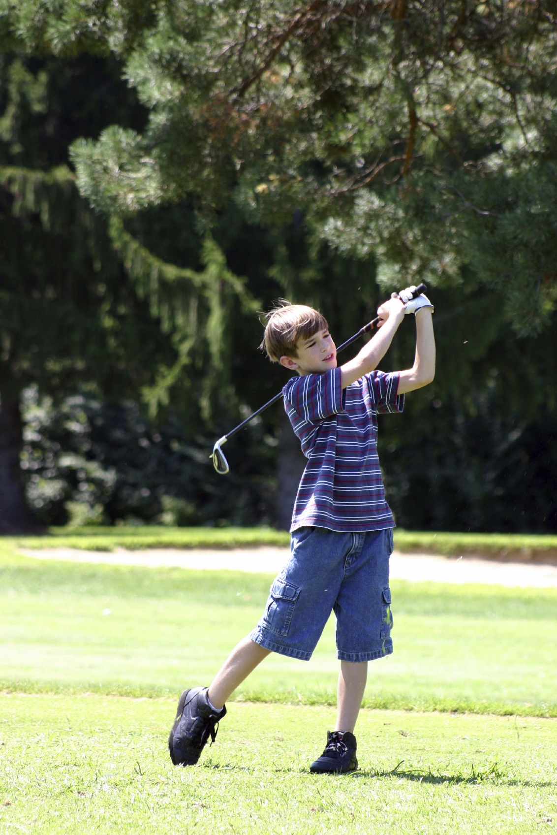 Youth Golfer