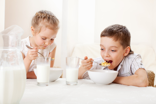 A preview image for How Eating Breakfast Will Help Your Kids Control Their Weight