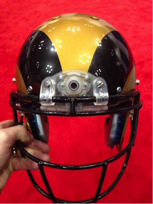 A preview image for New Football Helmet Cameras See What Players See