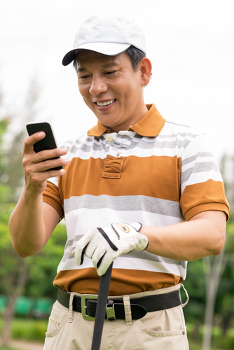 Make instant swing corrections on the golf course or at the driving range using new sports technology mobile apps.